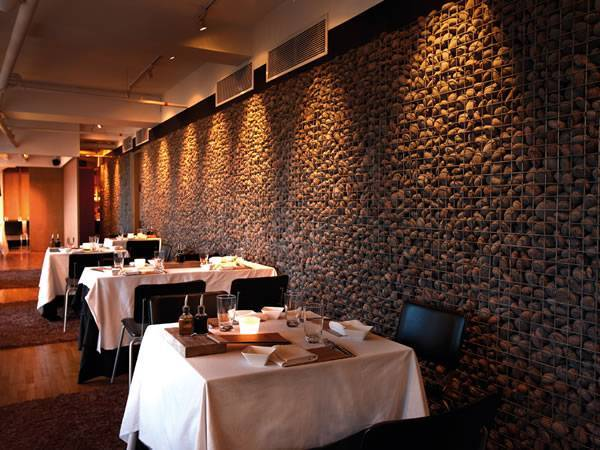 Gabion Interior Designs Show Aesthetic Effect And Decorate
