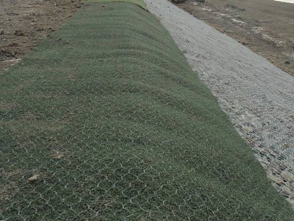 Macmat R Used In Slope Embankment Greening System