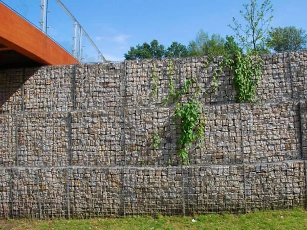 Gabion Barriers For Defense Amp Erosion Control